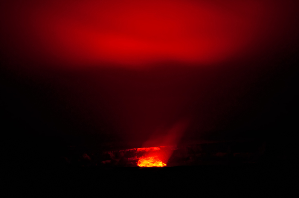 Big Island Kamoamoa Fissure Eruption 2011